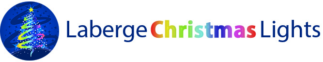 Laberge Christmas Lights Logo