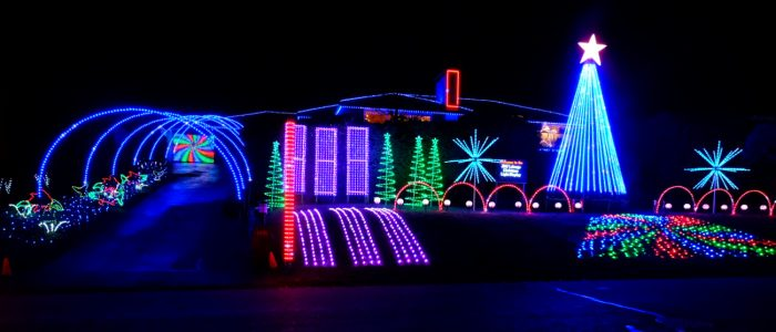 Christmas Lights To Music.Laberge Christmas Lights Home Of The Sugar Plum Salmon